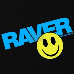 Raver Smilie T-Shirt