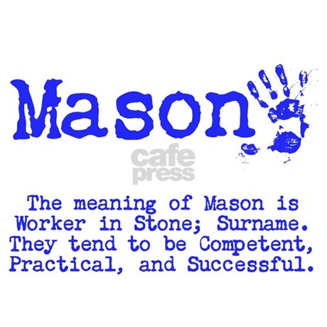 The Meaning Of Mason Shower Curtain by ItsallintheName