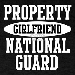 Property of US NG Girlfriend T-Shirt
