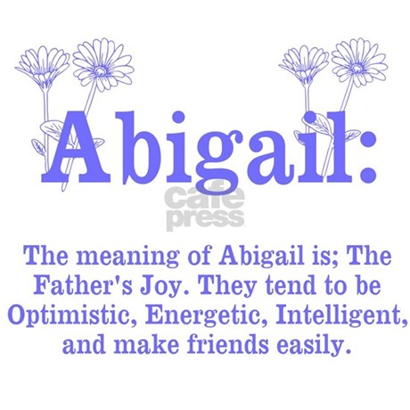 The Meaning of Abigail Pillow Case by ItsallintheName