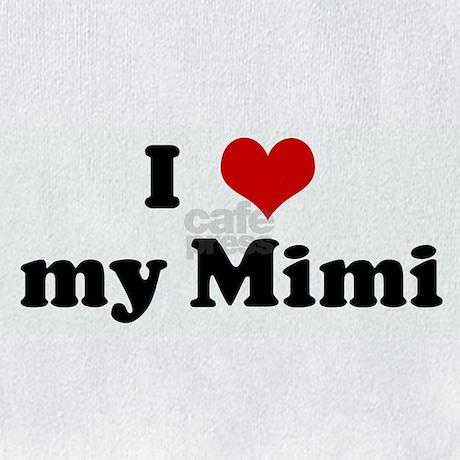 I Love My Mimi Bib By Customhearts
