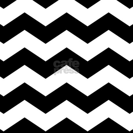 Black And White Chevron Shower Curtain By ColorfulPatterns