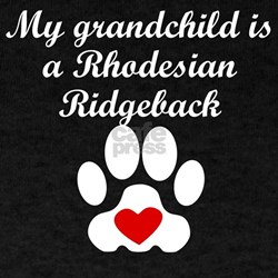 Rhodesian Ridgeback Grandchild T-Shirt