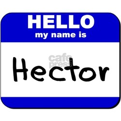 hello my name is hector Shirt