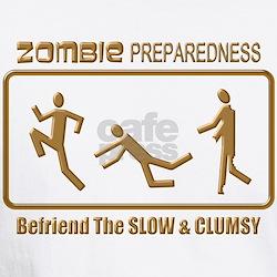 Zombie Preparedness Slow Bronze 3D T-Shirt