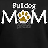 Bulldog mom T-shirts