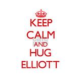 Keep calm & hug elliott Pajamas & Loungewear