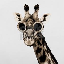 Giraffe With Steampunk Sunglasses Goggles Pillow C Jpg