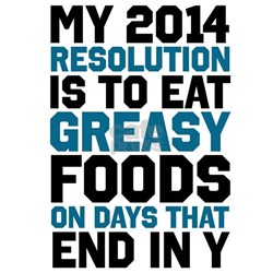Funny New Years Resolution T-Shirt