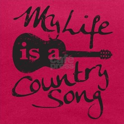 My Life Is A Country Song Maternity Tank Top