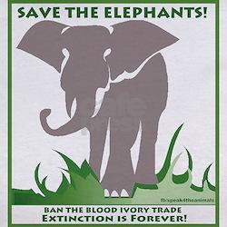 Save The Elephants - Tee
