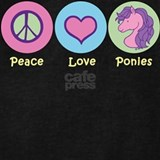 Girls peace love horse Sweatshirts & Hoodies