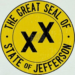 State of Jefferson Flag T
