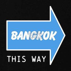 BANGKOK THIS WAY Maternity T-Shirt