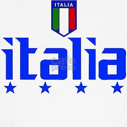 Italia soccer t-shirts 4 Star Italia shirt