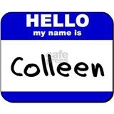 hello my name is colleen  Mug
