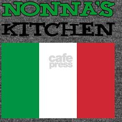 Nonnas Kitchen Itali Long Sleeve Maternity T-Shirt