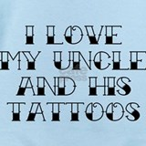 Uncle tattoo Baby Bodysuits