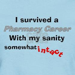 Retired Pharmacist Sanity Intact T-Shirt