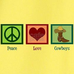 Peace Love Cowboys T