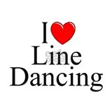 """I Love (Heart) Line Dancing"" Mug"