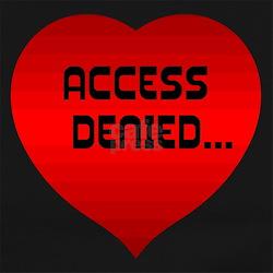 Access Denied.. Long Sleeve Maternity T-Shirt