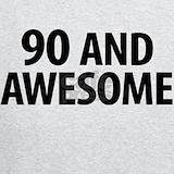 90 birthday Sweatshirts & Hoodies