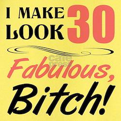 Fabulous Attitude 30th Birthday T