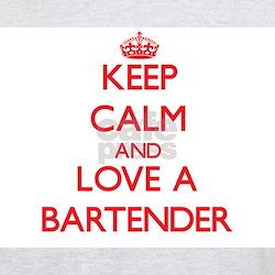 Keep Calm and Love a Bartender T-Shirt