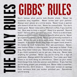Gibbs' Rules T-Shirt