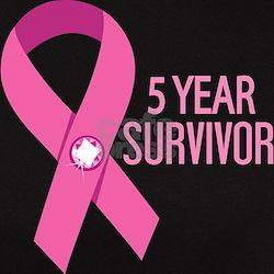 Breast Cancer 5 Year Survivor Tee