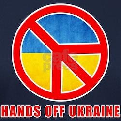 Hands Off Ukraine Tee