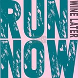 Run now wine later Tank Tops