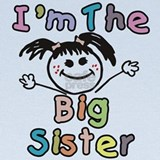 Im the big sister Baby Hats