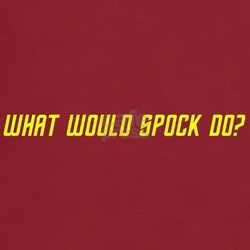 What would Spock do? T-Shirt