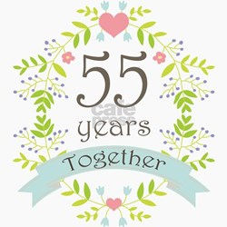 Wedding Anniversary Gifts 55 Years : ... Wedding Anniversary Unique 55th Wedding Anniversary Gift Ideas