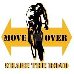 Move Over Share The Road T-Shirt