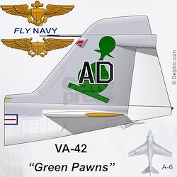 A-6 Intruder Va-42 Thunderbolts Shirt