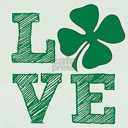 Love Irish Clover T-Shirt
