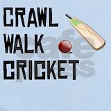 Crawl walk cricket Baby Bodysuits