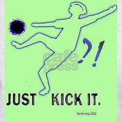 kick it, c. Sarah Long T-Shirt