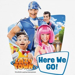 Here We Go Lazytown T-Shirt