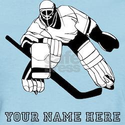 Custom Hockey Goalie T-Shirt