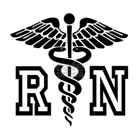 Rn Nurse Caduceus License Plate Frame By Hqart