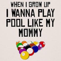 Pool Like My Mommy T-Shirt