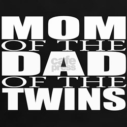mom of twins dad T-Shirt