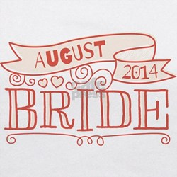 Bride 2014 August Maternity Tank Top