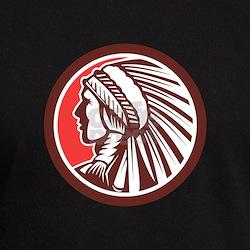Native American Warrior Chief Circle T-Shirt