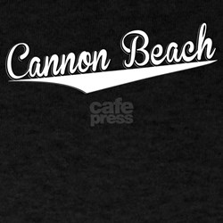 Cannon Beach, Retro, T-Shirt