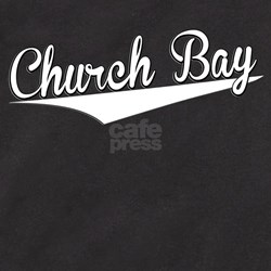 Church Bay, Retro, T-Shirt